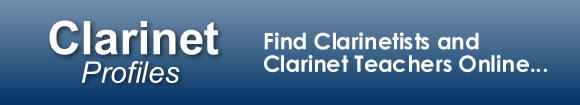 ClarinetProfiles.com - Find Clarinetists and Clarinet Teachers Online